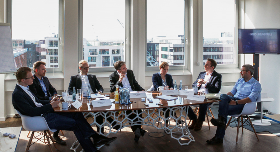 Fintech-Roundtable Diskussion