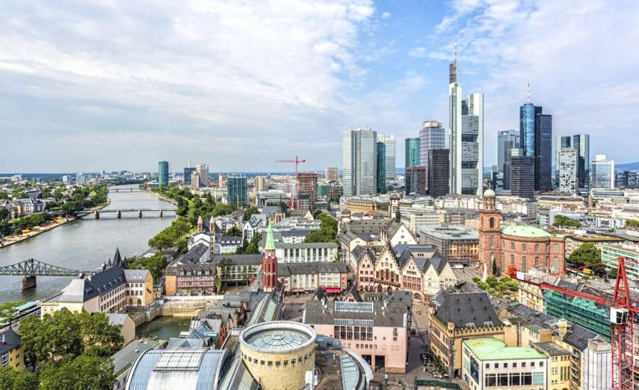Frankfurt Main City